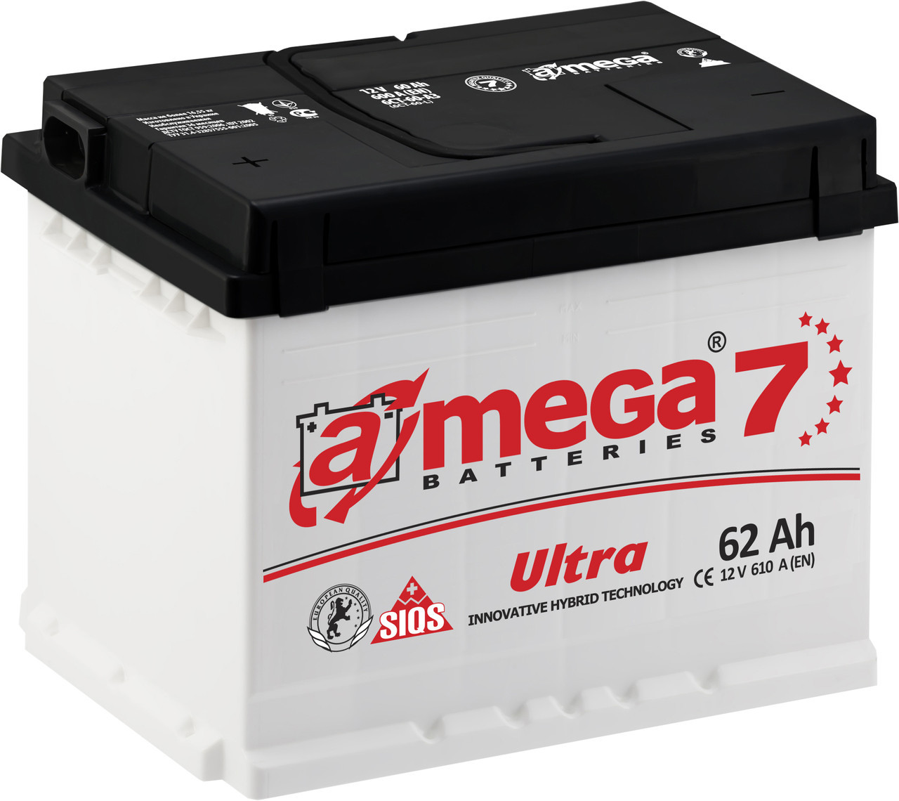 Аккумулятор A-Mega Ultra 62Ah (0)