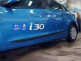 Молдинги на двері для Hyundai i30 GD 5Dr 2011-2017, фото 4
