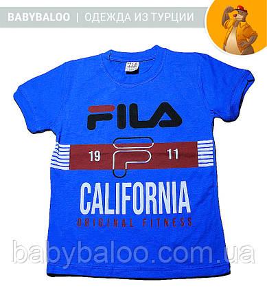 """Стильная футболка для мальчика """"FILA"""" (от 5 до 8 лет), фото 2"""