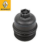 Крышка корпуса масляного фильтра на Renault Trafic III (1.6 dCi) с 2014... Renault (оригинал) 7701478537