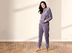 Женский костюм спортивный/домашний велюровый бархатный XS (32/34) Esmara, сиреневый