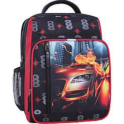 Школьный рюкзак 8 л.черный 500 (0012870)