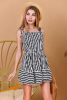 Платье летнее в полосочку 70053, фото 1