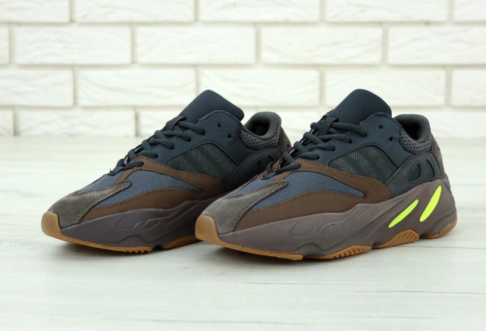 Женские коричневые Кроссовки Adidas Yeezy Boost 700