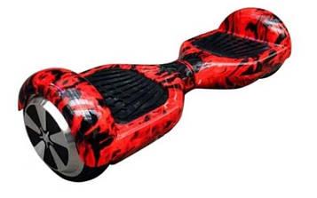 Гироборд 6,5 дюймов Smart Balance Гироскутер Сигвей Цвет - Пламя полная комплектация Самобалансом Тао Тао