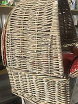 Корзина для пикника с сумкой-холодильником на 4 персоны (020PPN), фото 3