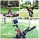 Гибкий штатив тринога трипод для телефона и фотоаппарата (паук) (черно-красный), фото 9