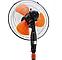 Напольный вентилятор Domotec MS-1619 3 режима Orange, фото 3