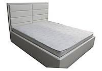 М'яка двоспальне ліжко Софі білий