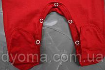"""Детский человечек с шапочкой """"M&M's""""  для новорожденных (кулир), фото 3"""