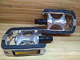 Педали велосипедные алюминиевые для горного велосипеда, фото 2