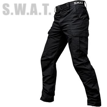 """Брюки тактические """"S.W.A.T."""" BLACK с ремнём"""