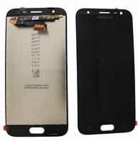Дисплейный модуль для Samsung Galaxy J3 J330 (2017) черный (GH96-10969A) Оригинал