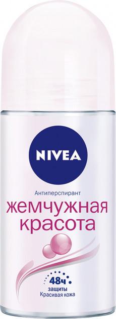 """Дезодорант шариковый женский Nivea """"Жемчужная красота"""""""