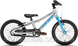Детский алюминиевый велосипед Puky LS-PRO 16(grey/blue), Германия