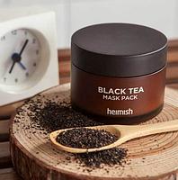 Успокаивающая маска для лица с черным чаем Heimish Black Tea Mask Pack 110 мл