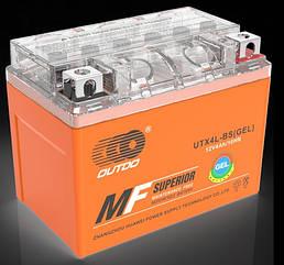 Мото аккумулятор OUTDO 12- 4 A/ч (0) GEL