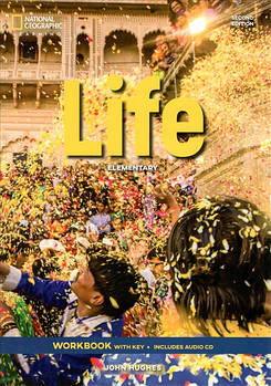 Life 2nd Edition Elementary Workbook with Key and Audio CD