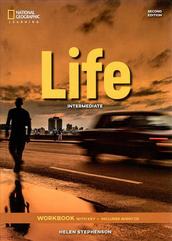 Life 2nd Edition Intermediate Workbook with Key and Audio CD