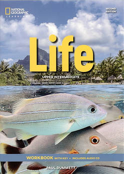 Life 2nd Edition Upper-Intermediate Workbook with Key and Audio CD