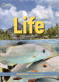 Life 2nd Edition Upper-Intermediate Workbook without Key and Audio CD
