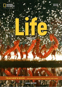 Life 2nd Edition Beginner Teacher's Book includes Student's Book Audio CD and DVD