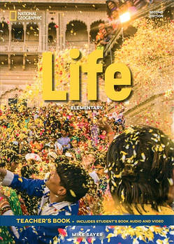 Life 2nd Edition Elementary Teacher's Book includes Student's Book Audio CD and DVD