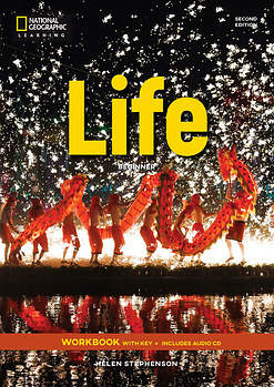 Life 2nd Edition Beginner Workbook with Key and Audio CD