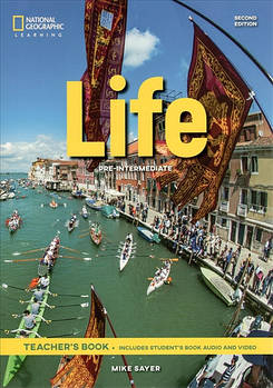 Life 2nd Edition Pre-Intermediate Teacher's Book includes Student's Book Audio CD and DVD