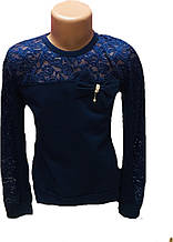 Школьная блуза для девочки, 128см