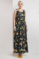 Красивый летний женский сарафан 2020  цвет: черный, размер: L, M, S, XL