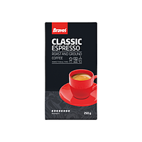 Натуральна мелена кава Bravos Espresso 250 г.