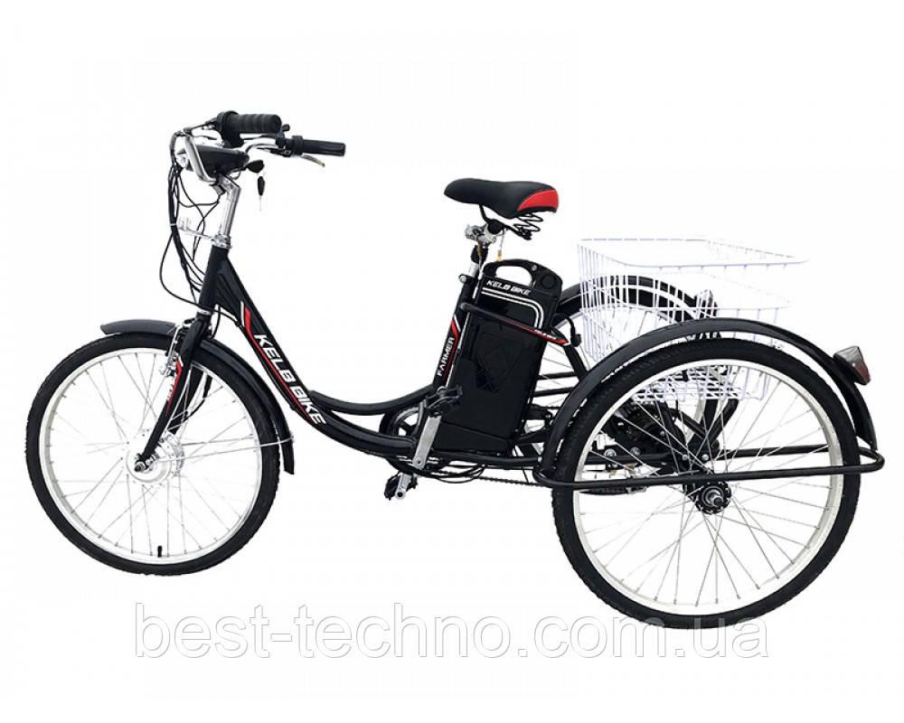Электровелосипед дорожный трехколесный 24 Kelb.Bike 250W+PAS
