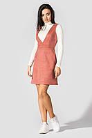Красивый летний женский сарафан 2020  цвет: пудровый, размер: 42, 44, 48