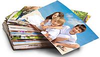 Печать фотографий 10-15 на фотолаборатории.
