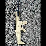 Бойова Штурмова Гвинтівка макет з дерева, фото 5