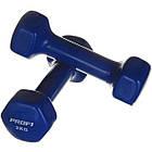 Гантель виниловая для фитнеса Profi 2 кг, фото 4