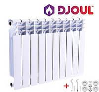 Алюминиевый радиатор отопления Djoul 500*80, Джоуль 500/80, фото 1