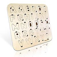 Дерев'яний алфавіт, німецька мова
