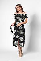 Романтическое платье с открытыми плечами без бретелей .Разные цвета, фото 1