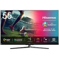 Телевизор HISENSE 55U8QF (SmartTV, 120 Герц,  DVB-T/T2/C/S/S2) Полная проверка и настройка