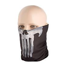 M-Tac шарф-труба облегченный Punisher Black