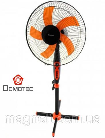Вентилятор напольный с таймером 5-ти лопастный Domotec МS-1620