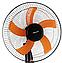 Вентилятор напольный с таймером 5-ти лопастный Domotec МS-1620, фото 4