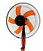 Вентилятор напольный с таймером 5-ти лопастный Domotec МS-1620, фото 3