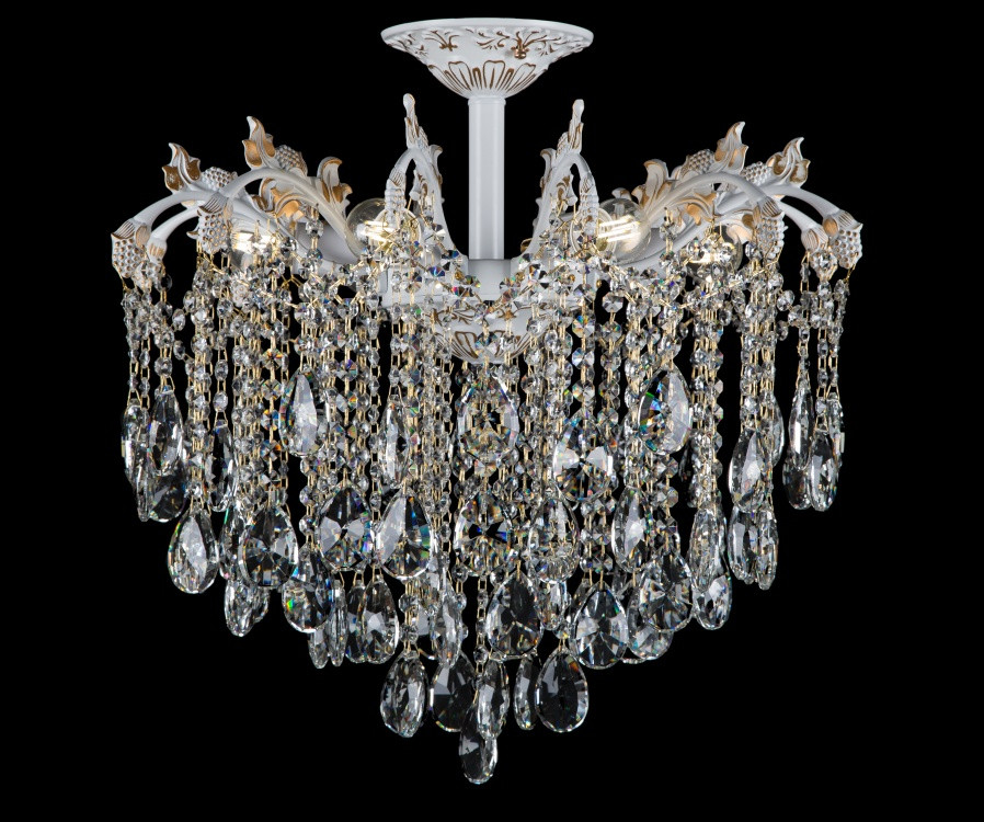 Светильники люстры хрустальные в классическом стиле Splendid-Ray 30-3865-45