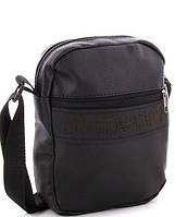 Мужская сумка 008 E.Armani black купить мужскую сумку недорого Одесса 7 км