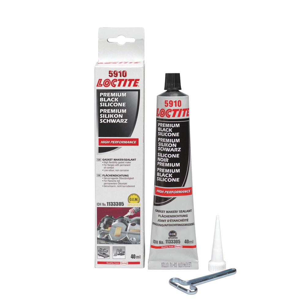 LOCTITE SI 5910 40 мл силиконовый маслостойкий герметик низкой прочности