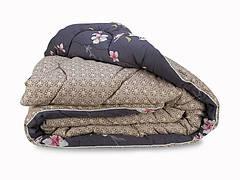 Одеяло Leleka-textile Вовняна Стандарт полуторное 140*205 см сатин/овечья шерсть особо теплое С63/64