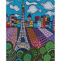 """Алмазная мозаика """"Облака в Париже"""" 40*50см AM6032"""